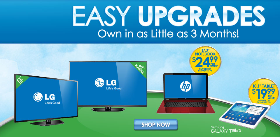 Computers - Easy Upgrades - Own in as Little as 3 Months!