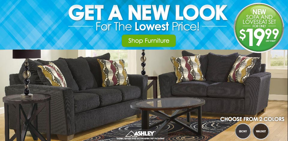 Get a New Look for the Lowest Price! Shop Furniture