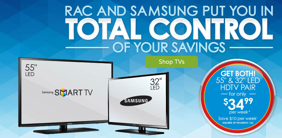 RAC and Samsung Put You In Total Control of Your Savings