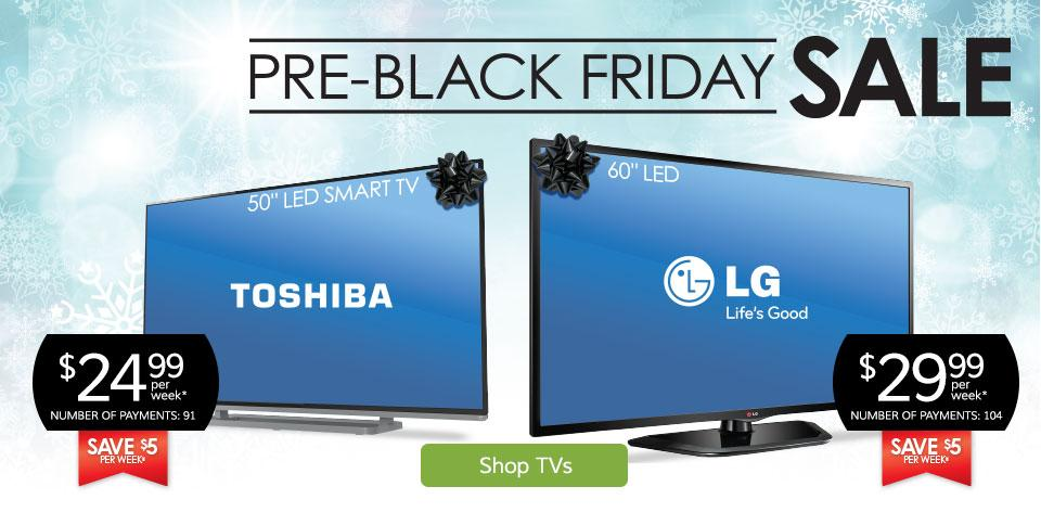 Pre-Black Friday Sale - Shop TVs