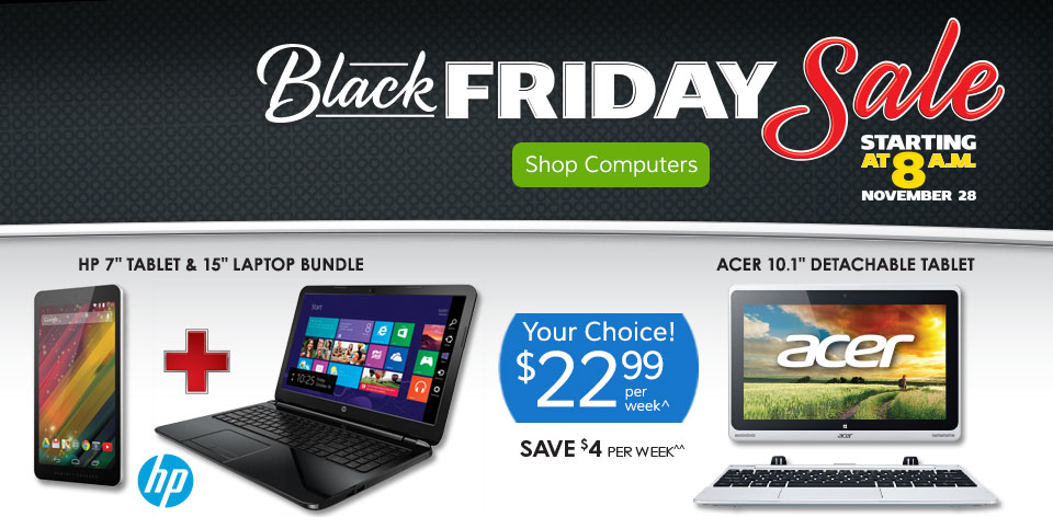 Black Friday Sale! Computers See Details