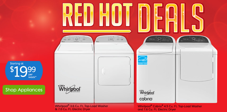 Red Hot Deals - Shop Appliances >