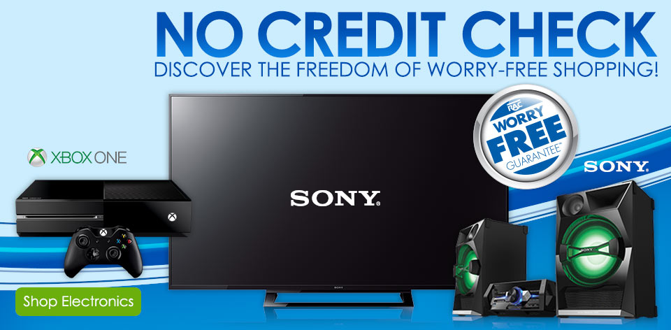 No credit check - Discover the freedom of worry-free shopping! Shop Electronics