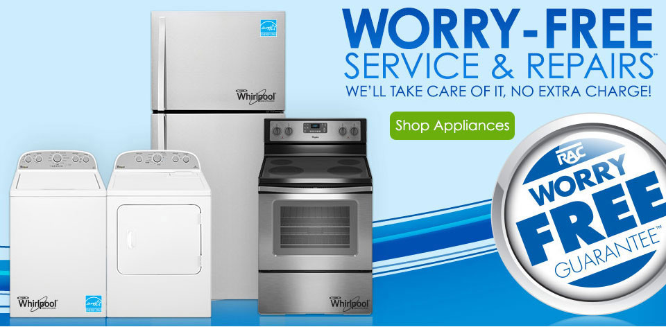 Worry-Free services and repairs**