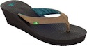 Sanuk Yoga Mat Wedge Brown
