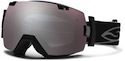 Smith Goggles I/OX Black With Ignitor Mirror Lenses