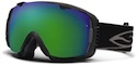 Smith Goggles I/O Black With Green Sol X Mirror