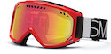Smith Goggles Scope Fire Blockhead Red Sol X