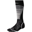 Smartwool Socks PhD Light Cushion Ski Black Gray