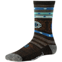 Smartwool Socks Women's Lifestyle Motley Flower Chestnut Heater
