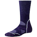 Smartwool Socks PhD Women's Outdoor Medium Crew Imperial Purple