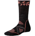 Smartwool Socks PhD Women's Outdoor Medium Crew Charcoal
