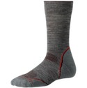 Smartwool Socks PhD Women's Outdoor Light Crew Light Gray
