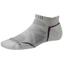 Smartwool Socks PhD Women's Running Light Micro Silver