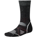 Smartwool Socks PhD Men's Outdoor Medium Crew Charcoal