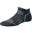 Smartwool Socks PhD Women's Running Light Micro Graphite