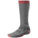 Smartwool Socks Performance Hunting Heavy Over The Calf Gray Red