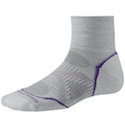 Smartwool Socks PhD Women's Running Mini Light Cushion Silver