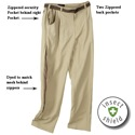 Rail Riders Eco Mesh Pants Light Tan With Insect Shield
